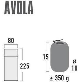 High Peak Avola Drap De Sac pour sacs de couchage Squared Shaped, grey